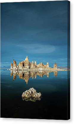 Tufa Reflections Canvas Print