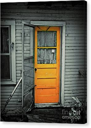 Screen Doors Canvas Print - Tuff Times by Perry Webster