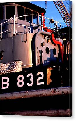 Tug Boat Canvas Print by Thomas R Fletcher