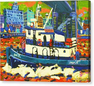 TUG Canvas Print by Brian Simons