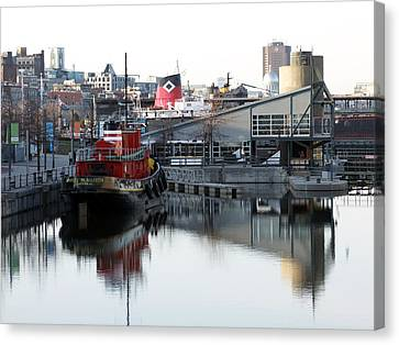 Tugboat 2 Canvas Print by Robert Knight