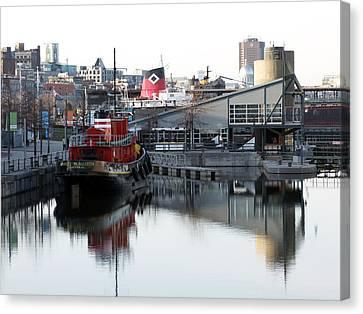 Tugboat 2 Canvas Print