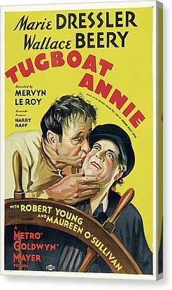 Tugboat Annie 1933 Canvas Print by M G M