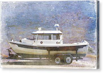 Tugboat Canvas Print by Cynthia Powell