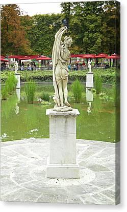 Tuileries Trollop Canvas Print