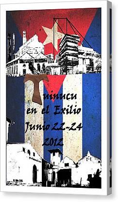 Tuinucu En El Exilio Canvas Print