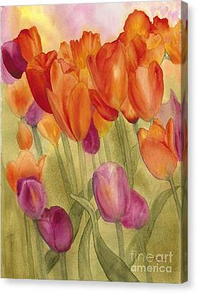Tulip Glory Canvas Print