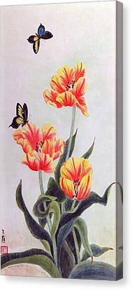 Tulip I Canvas Print by Ying Wong