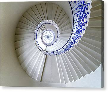 Tulip Staircase Canvas Print by Jae Mishra