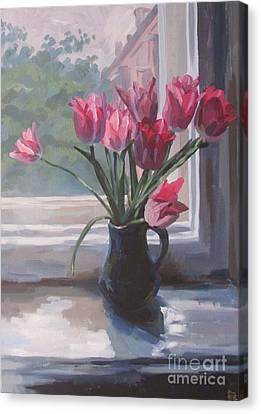 Tulips  Canvas Print by Kateryna Bortsova