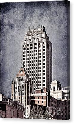 Tulsa Art Deco I Canvas Print by Tamyra Ayles