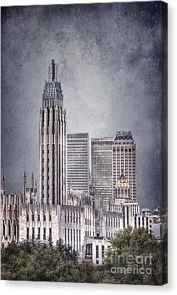 Tulsa Art Deco II Canvas Print