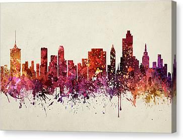 Tulsa Cityscape 09 Canvas Print