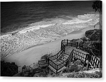 Tulum Beach Canvas Print