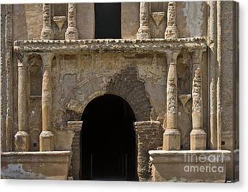 Hightower Canvas Print - Tumacacori Mission Entrance by Tim Hightower