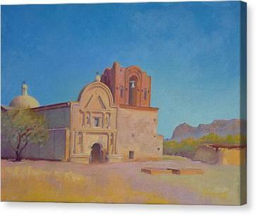 Tumacacori Mission Canvas Print by John Marbury