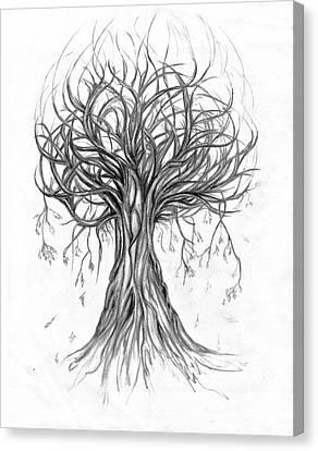 Tumble Tree Canvas Print by Eugenia Martini-Jarrett