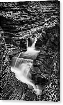 Tumbling Waters #2 Canvas Print by Stephen Stookey
