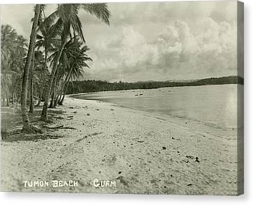 Tumon Beach Guam Canvas Print by eGuam Photo