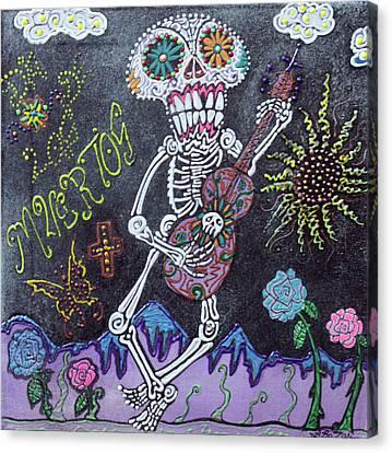 Tune Of Los Muertos Canvas Print