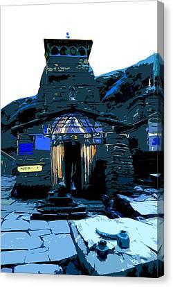 Tungnath2 Canvas Print by Padamvir Singh