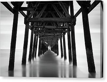 Tunnel Canvas Print by Ivo Kerssemakers
