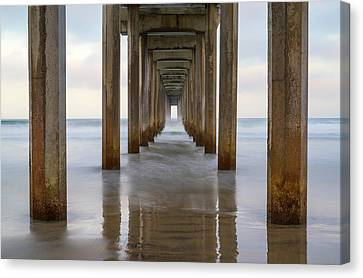 Tunnel To The Sea Canvas Print