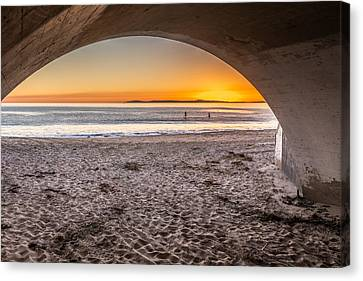 Tunnel View Canvas Print by Peter Tellone