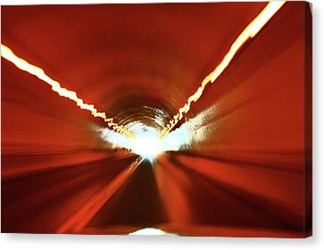 Tunnel Vision Canvas Print by Gray  Artus