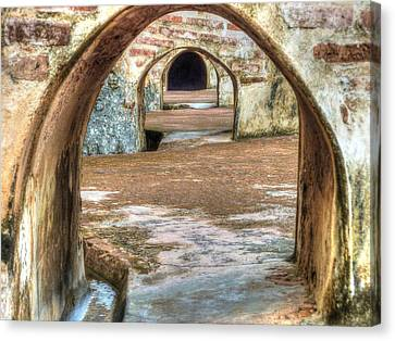 Tunnel Vision Canvas Print by Michael Garyet