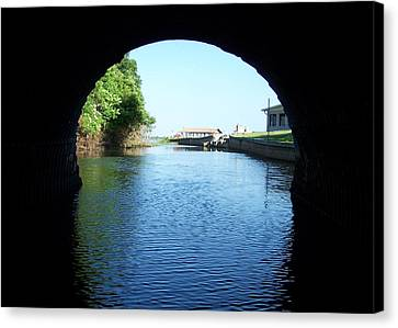 Tunnel Vison Two Canvas Print by Jack Norton