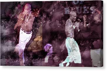 Tupac 41420632063 Canvas Print by Jani Heinonen