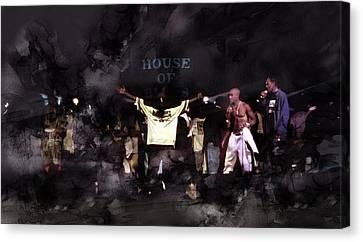 Tupac 41456000000898 Canvas Print