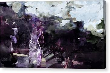 Tupac 536893901 Canvas Print by Jani Heinonen