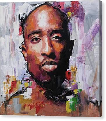Tupac Canvas Print by Richard Day