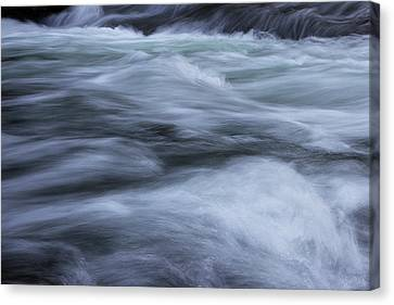 Canvas Print featuring the photograph Turbulence 2 by Mike Eingle