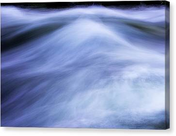 Canvas Print featuring the photograph Turbulence 3 by Mike Eingle