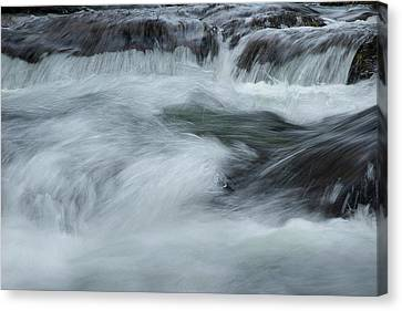Canvas Print featuring the photograph Turbulence  by Mike Eingle