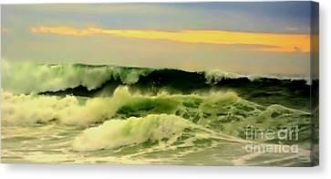 Turbulent Ocean Swell Canvas Print by Blair Stuart