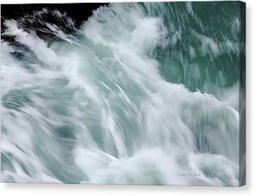 Turbulent Seas Canvas Print