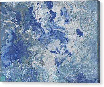 Turbulent Sky Canvas Print