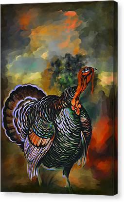 Turkey  Canvas Print by Andrzej Szczerski