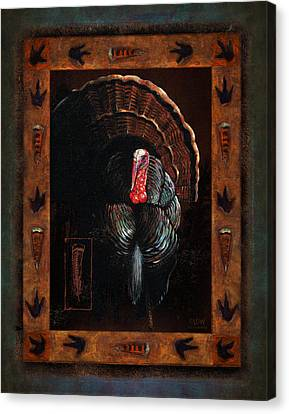 Turkey Canvas Print - Turkey Lodge by JQ Licensing