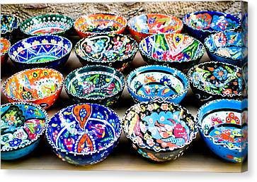 Turkish Bowls Canvas Print