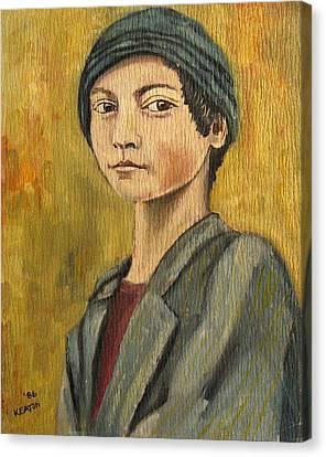 Turkish Boy Canvas Print by John Keaton