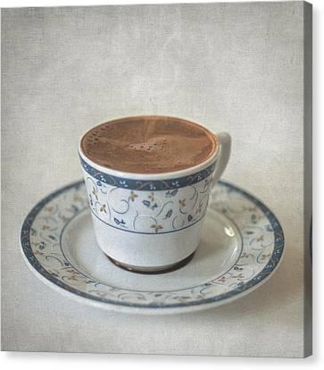 Turkish Coffee Canvas Print by Taylan Apukovska