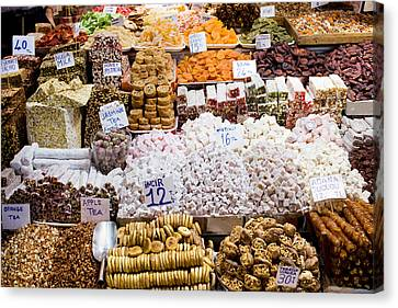 Turkish Delight In Istanbul Canvas Print by Artur Bogacki