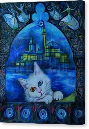 Turkish Fantasy Canvas Print by Anna Duyunova