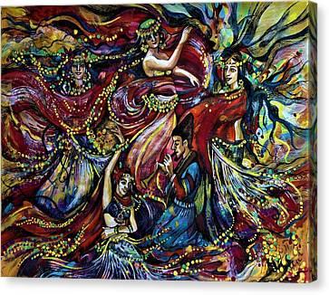 Turkish Music Canvas Print by Anna Duyunova