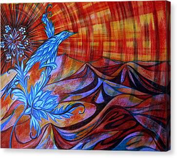 Turkish Song Canvas Print by Anna Duyunova